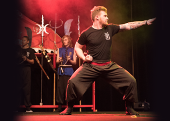 Kung Fu Demonstration on Stage image
