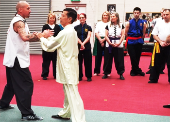 Training with International Chen Tai Chi Master Wong Seng Choong image