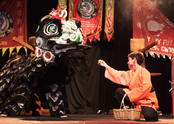 Its More Than Kung Fu. A Recent Stage Show Performing as a Shaolin Monk  image