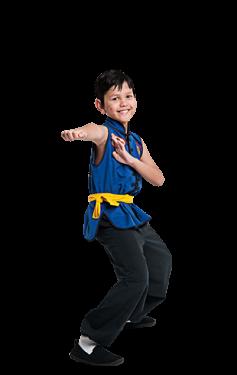 Preschoolers Kung Fu
